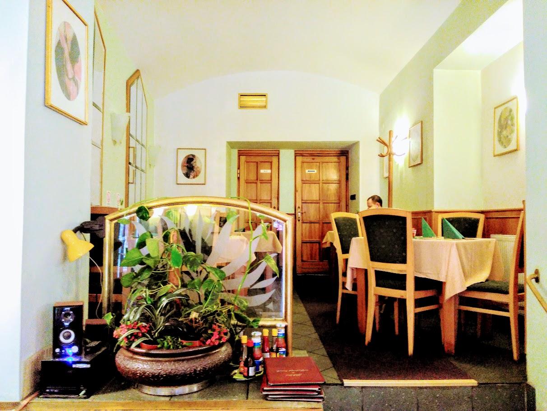 Restaurace Kolonáda Interier